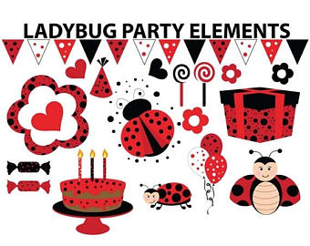 Baking clipart red frame Frame candy elements Mosaic 5x7