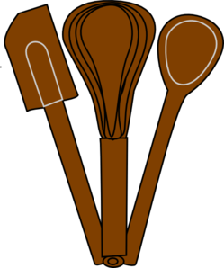 Cutlery clipart funny Utensils Brown Art Clip Baking