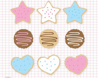 Biscuit clipart sugar cookie / Etsy clip and Cookies