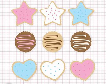 Biscuit clipart sugar cookie / Etsy Cookies Cookies Sugar