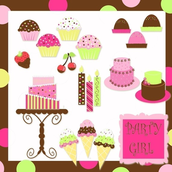Baking clipart sweet treat Cake treats Presents treats Presents