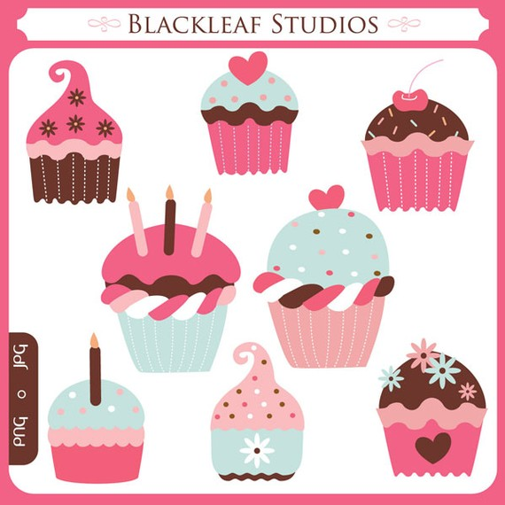 Baking clipart sweet treat Cupcakes Sweet  icing treats