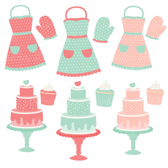 Baking clipart vector Baking Clipart Coral Professional chá