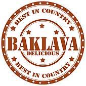 Baklava clipart dough Sweets · Free stamp Art
