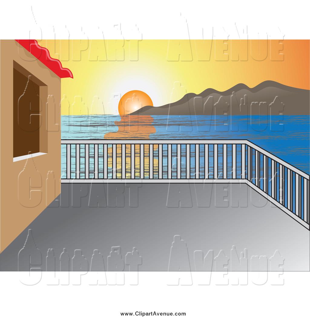 Balcony clipart Royalty  Designs Avenue Stock