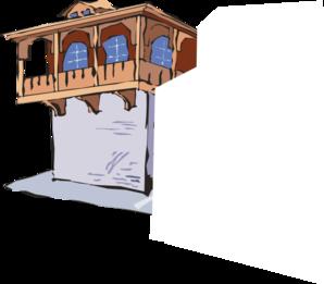 Balcony clipart Part Clip The clip Art