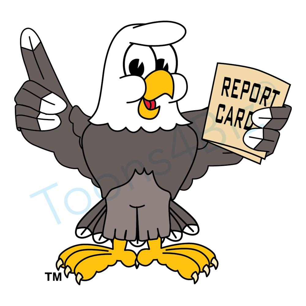 Bald Eagle clipart cartoon Card Report Bald with Card