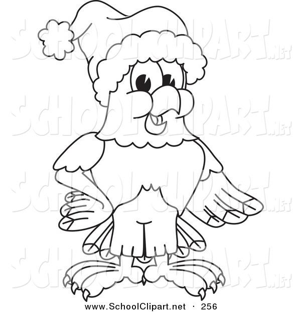 Bald Eagle clipart hawk Art or of or Santa