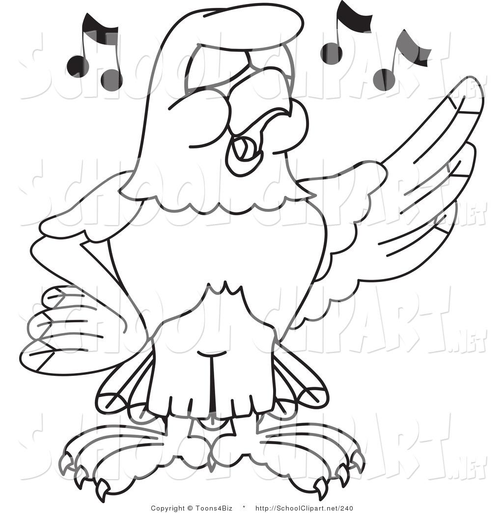 Bald Eagle clipart hawk Page Singing of Eagle Singing