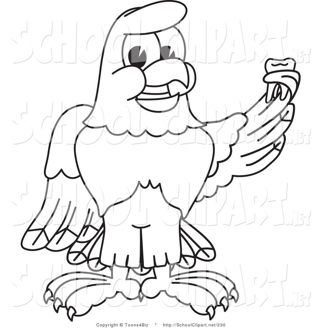 Bald Eagle clipart hawk Stock of or a Bald