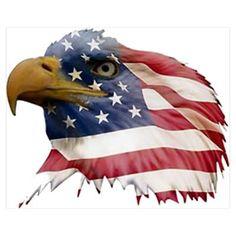 Bald Eagle clipart patriotic Art eagle flag american (66+)