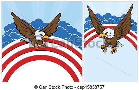 Bald Eagle clipart patriotic Art Eagle Patriotic Eagle Bald