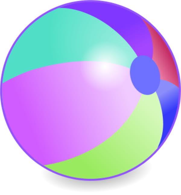 Ball clipart beach ball Fans Clipart Ball art clip