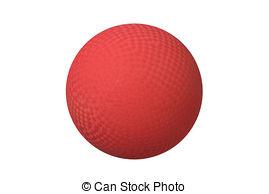 Ball clipart dodgeball Ball dodgeball  Stock Blue