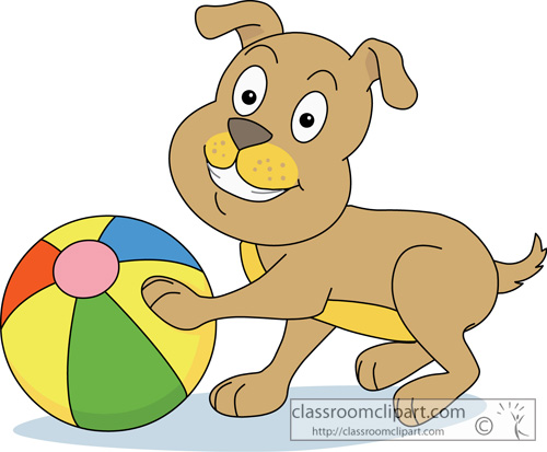 Ball clipart dog Cliparts Playing on Art Dog