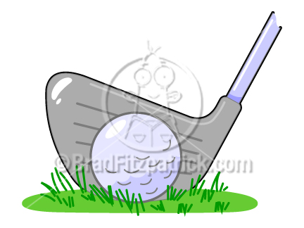 Golf Course clipart golf ball Ball Golf  Ball Club
