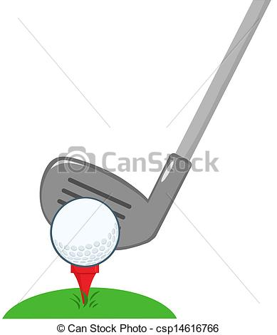 Golf Course clipart male golfer Golf Ready Ball  Clip