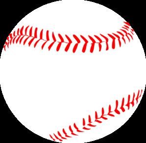 Baseball clipart lace #1