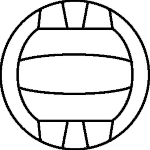 Ball clipart netball ball Free Colouring ball Net Clip