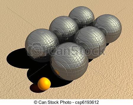 Ball clipart petanque Csp6193612 balls metallic Clip game