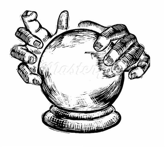 Ball clipart psychic In awesome crystal A psychic