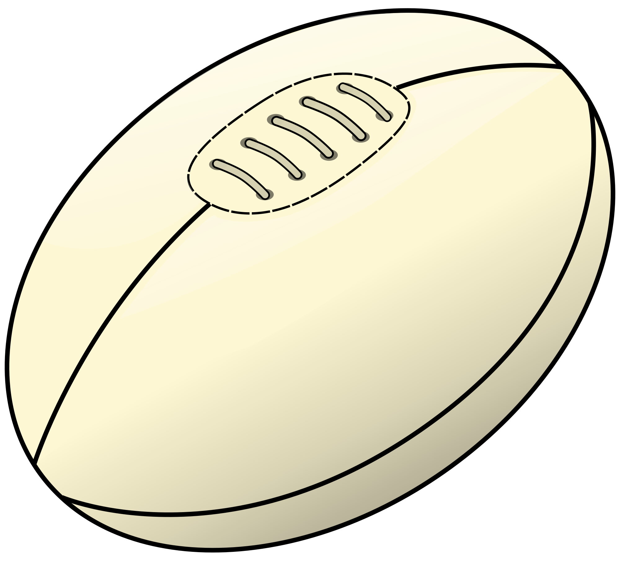 Ball clipart rugby union Svg ball File:Ru Wikimedia Commons