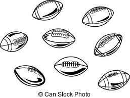Ball clipart rugby union Rugby football and american of