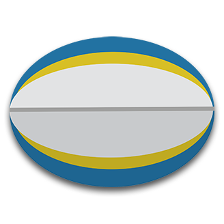 Ball clipart rugby union Bleacher logo Union Report Rugby