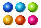 Ball clipart six · Black player Free And