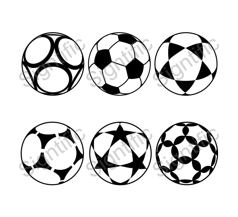 Ball clipart six Clipart Vector soccer instant