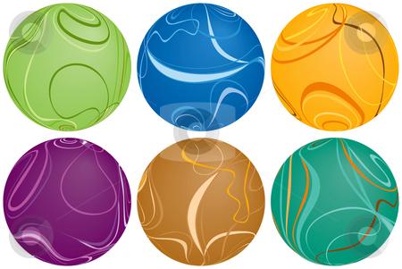Ball clipart six Swirly Swirly Balls Balls Six