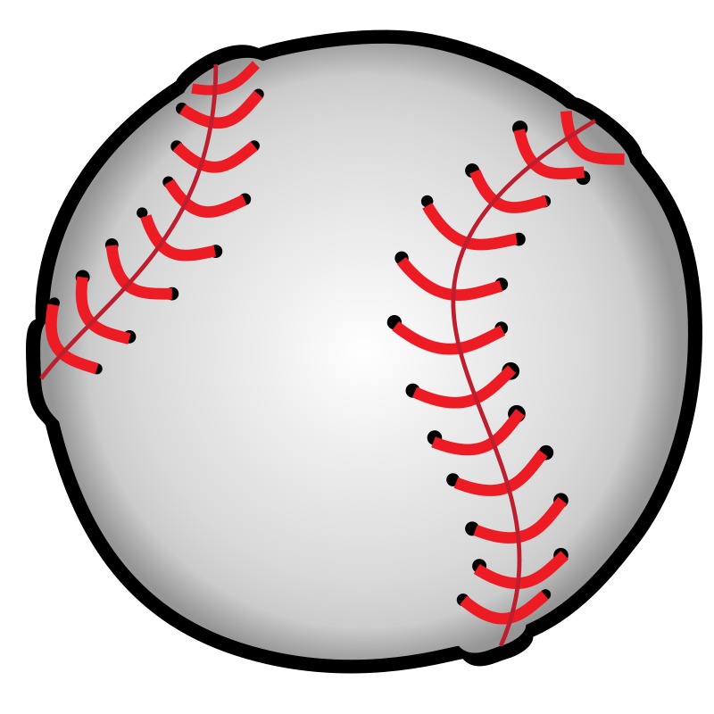 Baseball clipart high resolution #6