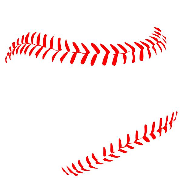 Baseball clipart lace #2