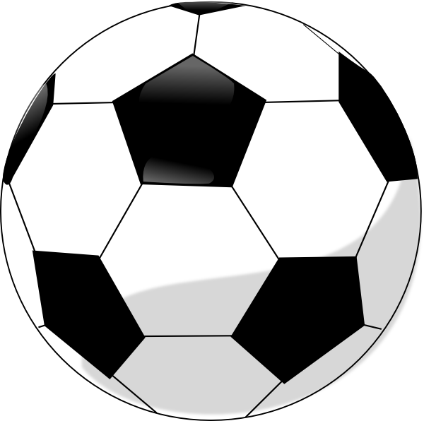 Ball clipart vector On Vector Free library Soccer