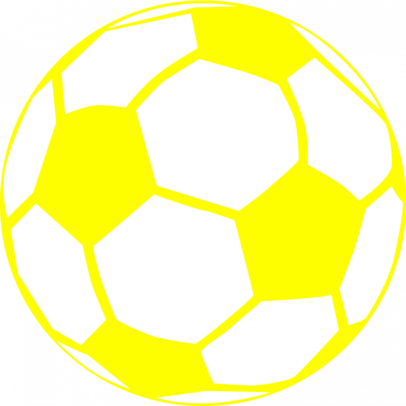 Ball clipart yellow Ball Yellow Soccer Magnets Cliparts