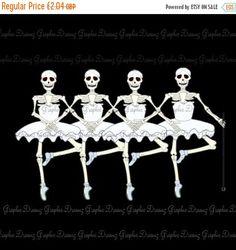 Ballerina clipart halloween #13