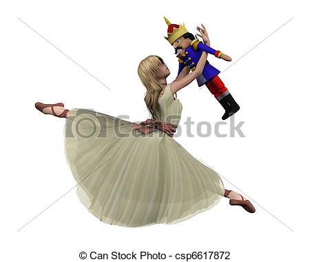 Ballerina clipart nutcracker ballet #12