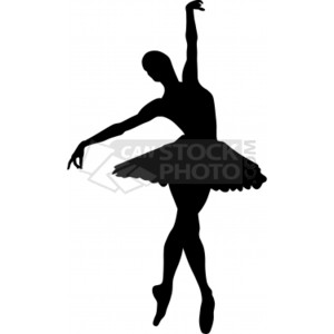 Ballerina Vector illustrations  to
