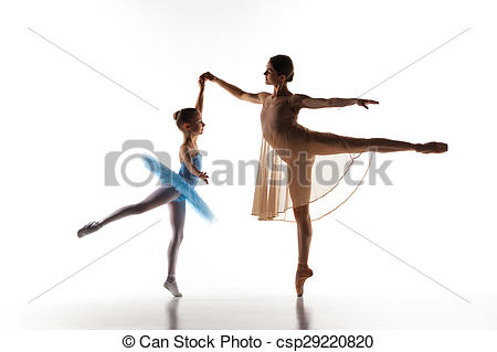 Ballerine clipart ballet teacher Dance little studio with The