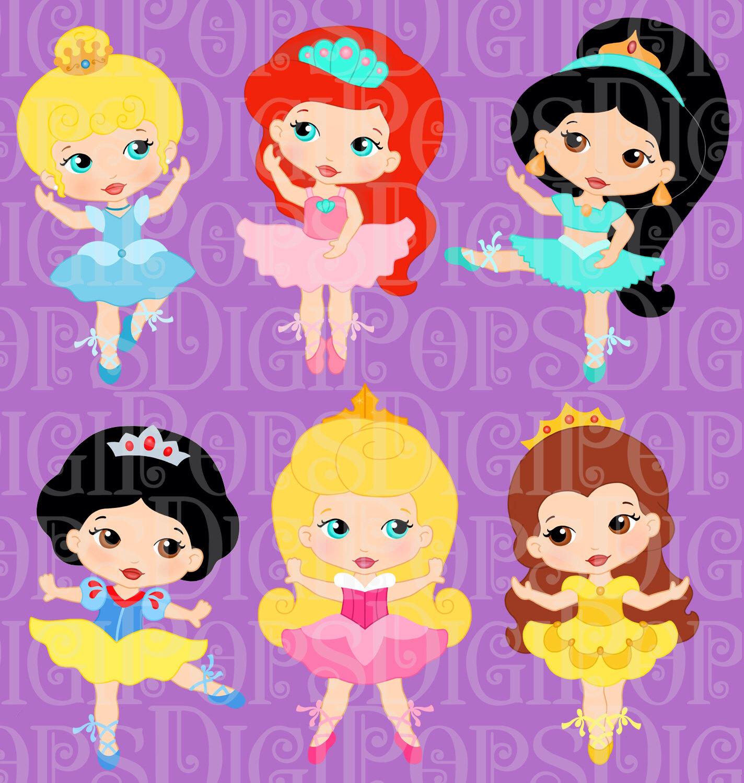 Ballerine clipart belle Belle Colored LITTLE Art PRINCESS