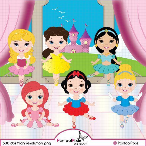 Ballerine clipart belle Images / Little Scrapbooking Princess