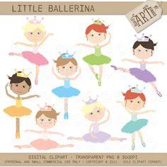 Ballerine clipart belle # Luvly Little Design Ballerina