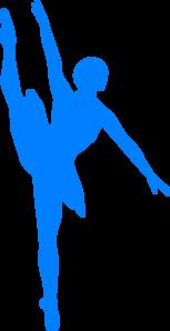 Ballerine clipart blue Art Ballerina Ballerina clip vector
