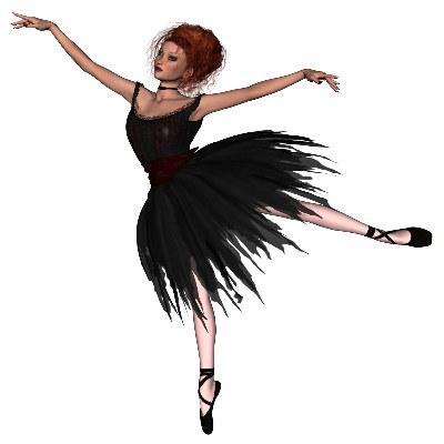 Ballerina clipart halloween #4