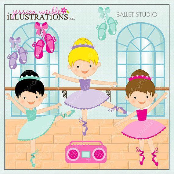 Ballerine clipart jazz shoe Cute Ballerina Web Dance Clipart