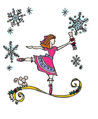 Ballerina clipart nutcracker ballet #8