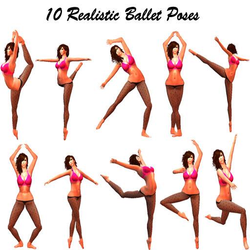 Ballerine clipart poses #6