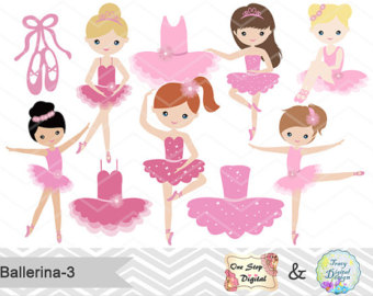 Ballerine clipart princess ballerina Art Clipart Etsy Ballet Clip