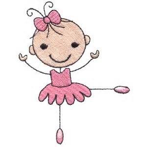 Ballerine clipart stick figure #15