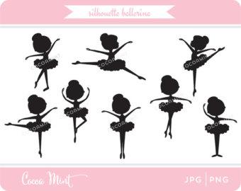 Ballerine clipart stick figure #9